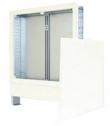Fb-Verteilerschrank 2.0 Strawa 875 x 710 mm, weiß, unterputz