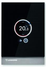JUNKERS Control CT 100 Design-Regler Touch-Screen