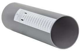 Lunos 9/R160 RundkanalLänge: 500 mm, D= 160mm