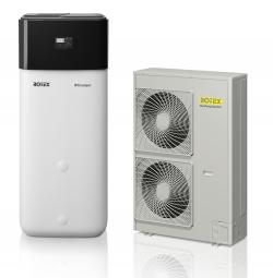 Rotex Paket 9C HPSU compact 516 16kW-9XSpeicherinhalt 500 Liter Wärmepumpe
