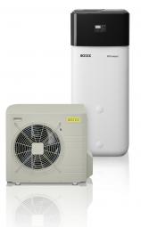 Rotex Paket 2C HPSU compact 508 8kW-9XSpeicherinhalt 500 Liter Wärmepumpe