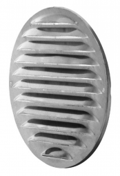 Lunos 1/RME 175 Außengitter d= 175 mm, Edelstahl
